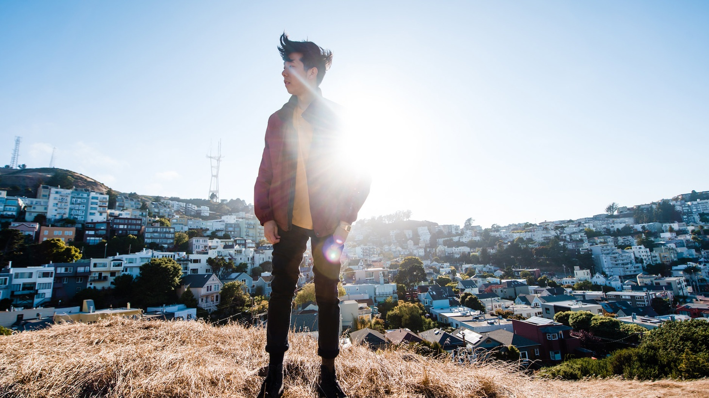 The debut album by San Francisco producer/DJ Giraffage purrs with kaleidoscopic beats and dreamy synth-pop.