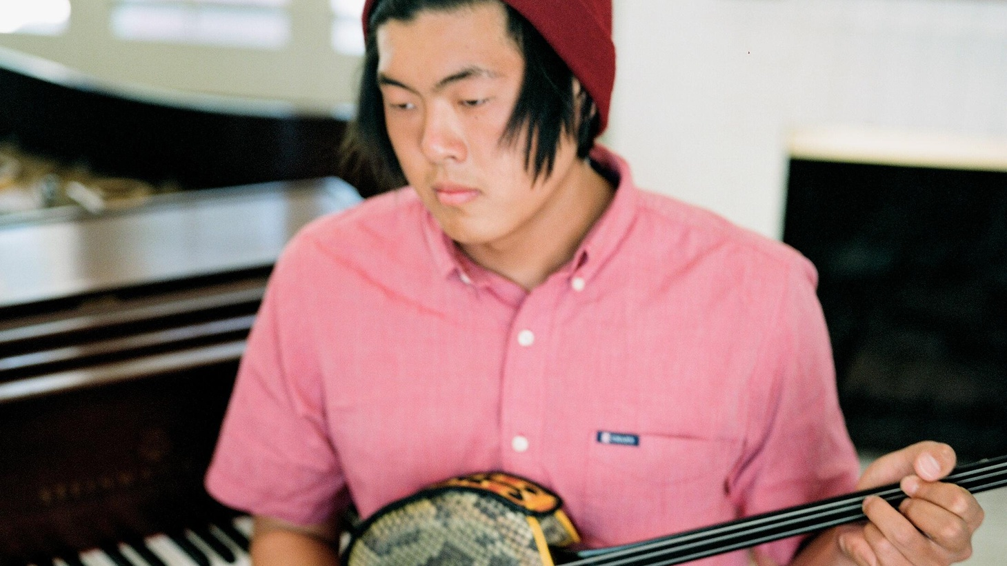 At 19, Yoodoo Park likes to stowaway in his parent's garage, creating songs for his moniker GRMLN...