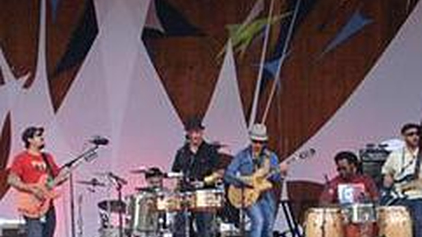 Grupo Fantasma are a jamming funk band comprised of members from all over Latin America who are based in Austin, Texas...