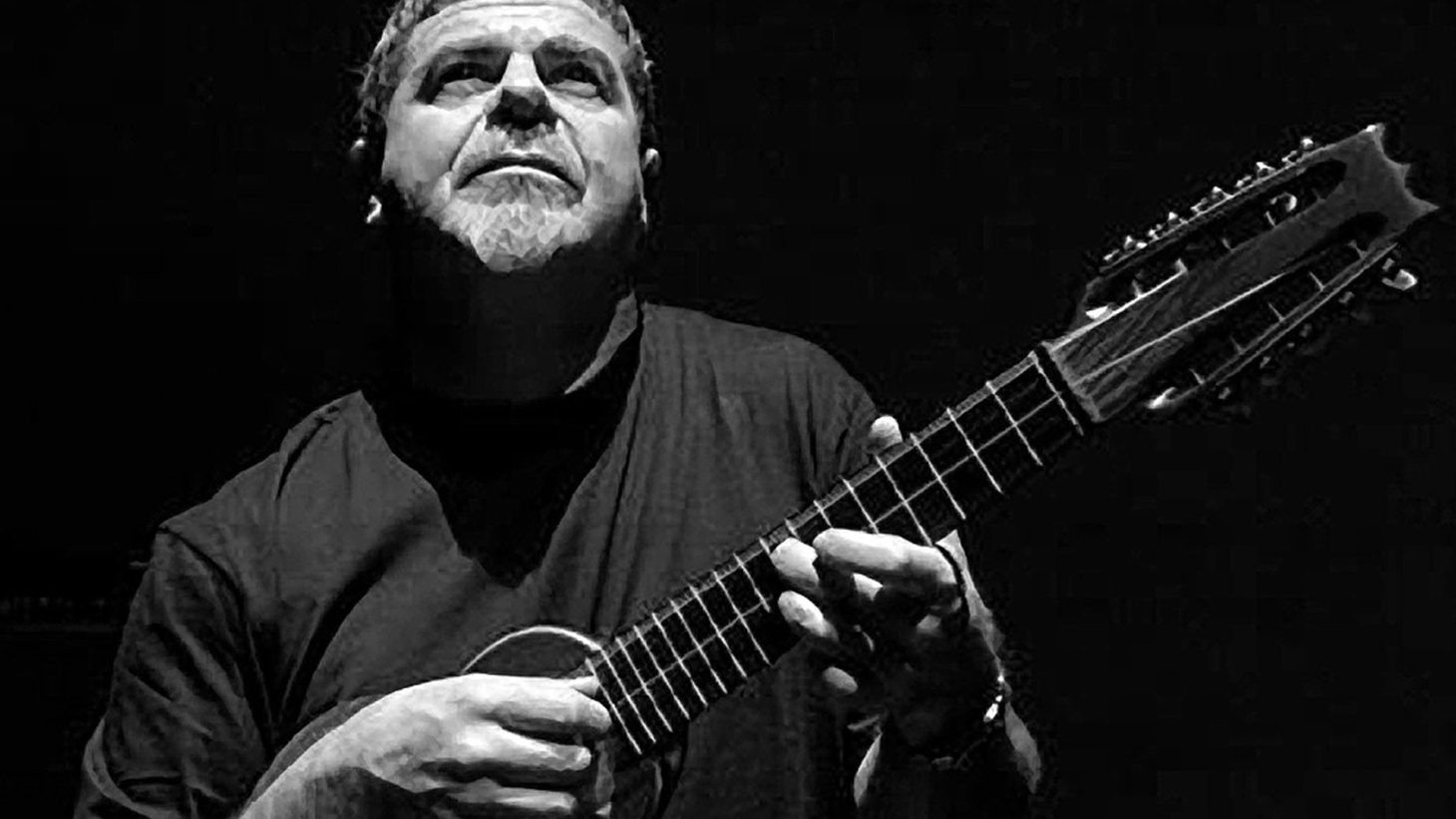 """Argentine Grammy and Oscar-winning composer and producer Gustavo Santaolalla displays his multi-instrumental talents and a minimalist mood on Today's Top Tune """"Seguir""""."""