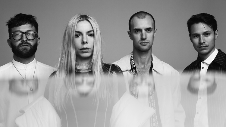 """Here's howHÆLOS speak of their new song: With 'End of World Party' we wanted to explore what it might be like to dance simultaneously in current and future time frames."""""""