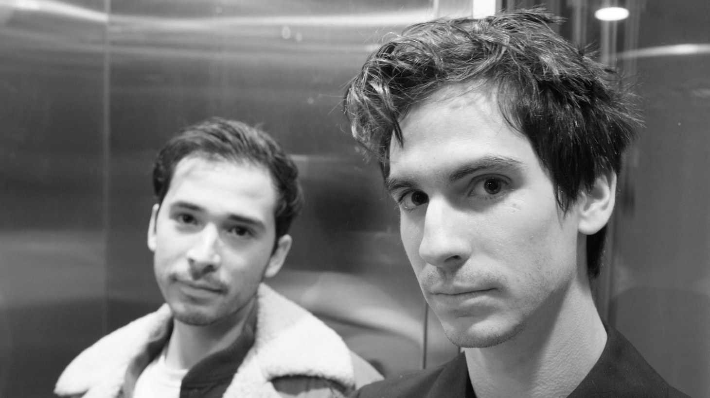 """Labelmates and pals, Hanni El Khatib & De Lux teamed up for """"Power Struggle,"""" an anthem that packs all their inspirations: disco, post-punk, and beyond as they share production and playing duties."""