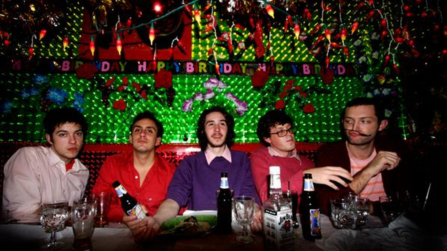 ...from Technicolor Health.   The Harlem Shakes is a garage-pop quintet out of Brooklyn. This young band has just finished its debut recording..