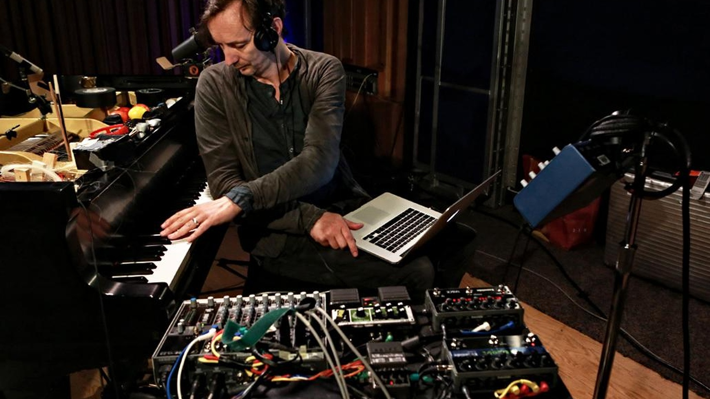 Experimental pianist Hauschka is fascinated by abandoned cities. He named each of the tracks on his new album after these places, including an Italian village swallowed by a sinkhole in 1963.
