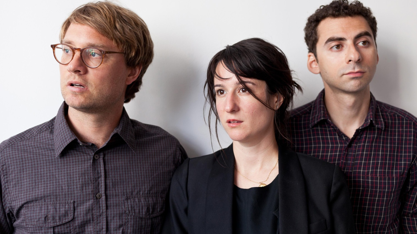 Brooklyn trio Hospitality tap into the darker corners of the human heart on their new album. While it may be dark, it's still sounds peppy...