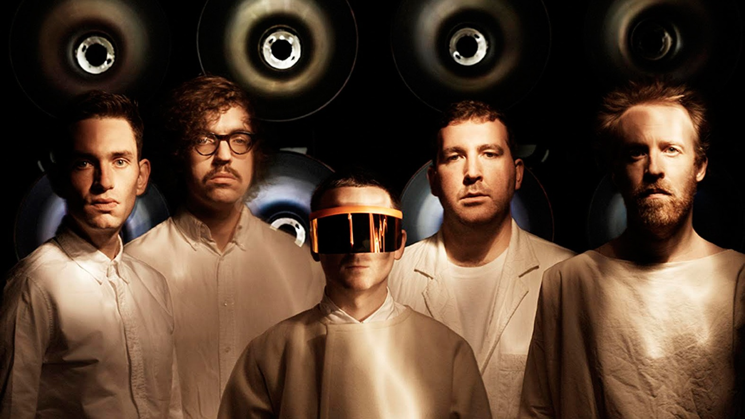 Just the mention of London's Hot Chip gets feet in motion.