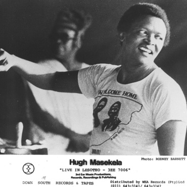 Hugh Masekela is mostly known as a South African trumpeter but his clarion call included activism and in 1980 Masekela lead a stadium-filled concert in Lesotho that challenged and…