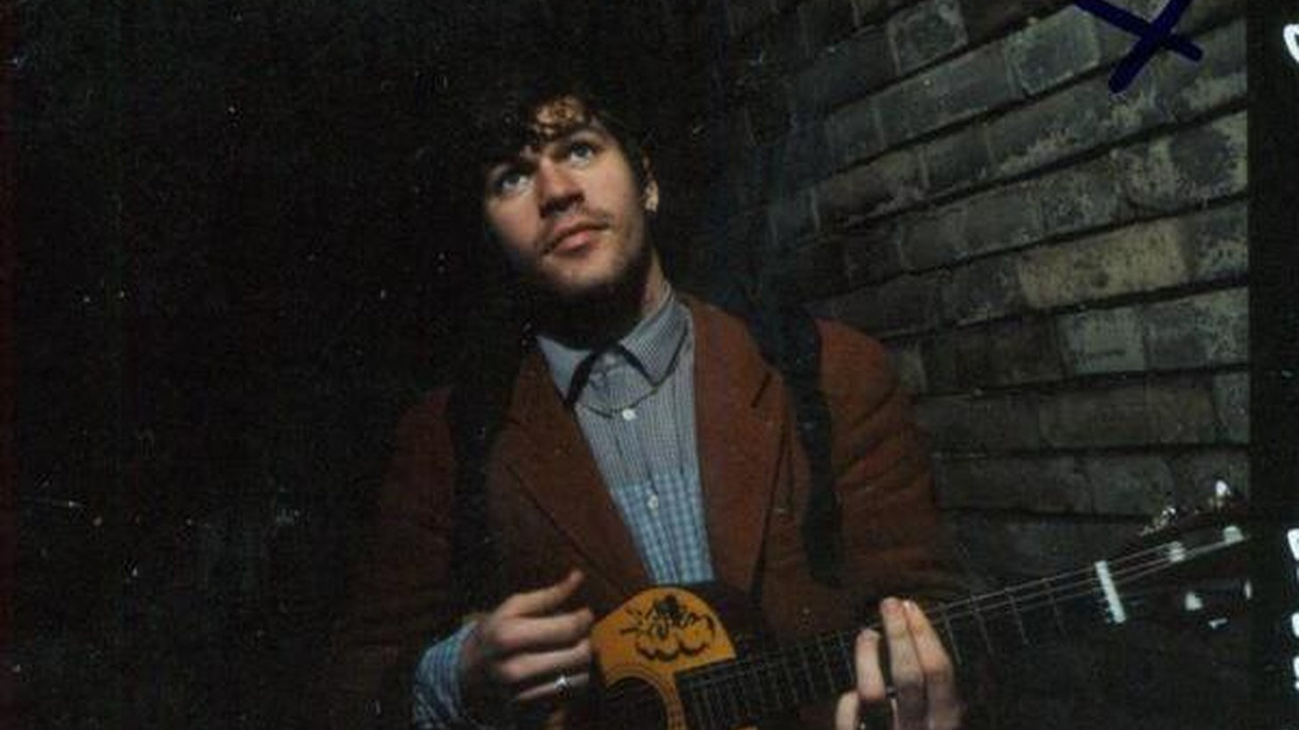 ...from his new, as yet untitled, CD.   Twenty-four year-old British singer-songwriter Jack Peñate is putting the finishing touches on his second release, songs mourn the loss of his youth-- in an upbeat way...