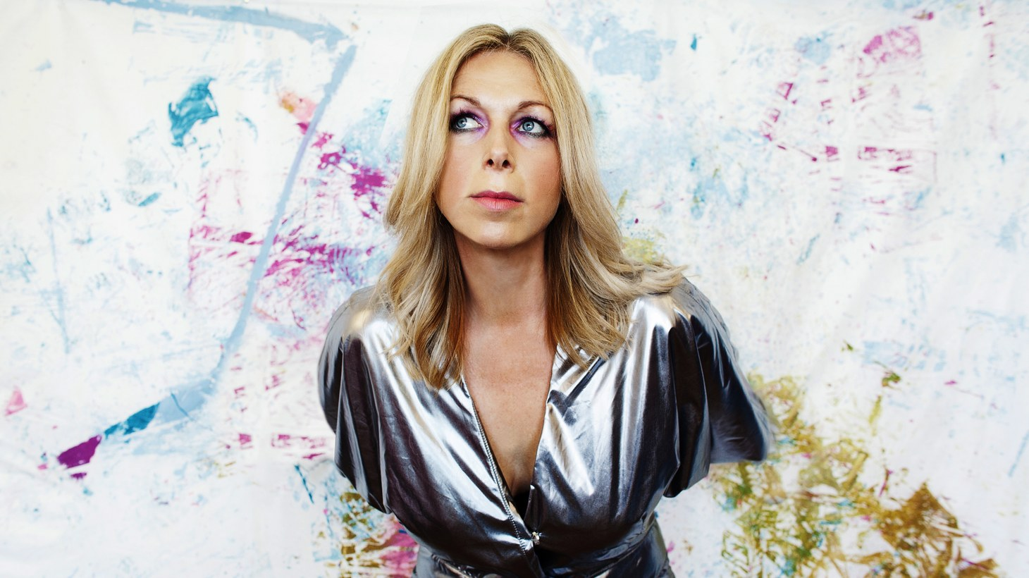 """Jane Weaver catches cosmic sounds, bygone Lebanese torch songs, 1980's Russian aerobics records and Australian punk for her new album and turns them into superlative pop like we hear on the song """"The Revolution of Super Visions."""""""