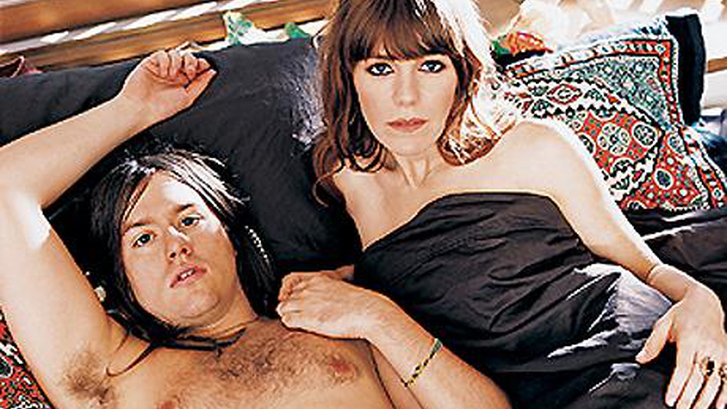 """Jenny Lewis (Rilo Kiley) and Johnathan Rice are a powerful couple – musically and romantically. They're both gifted songwriters and have finally collaborated on a project simply called Jenny & Johnny. Their debut features them playing just about every instrument and singing close harmonies. Today's Top Tune is """"Just Like Zeus."""""""