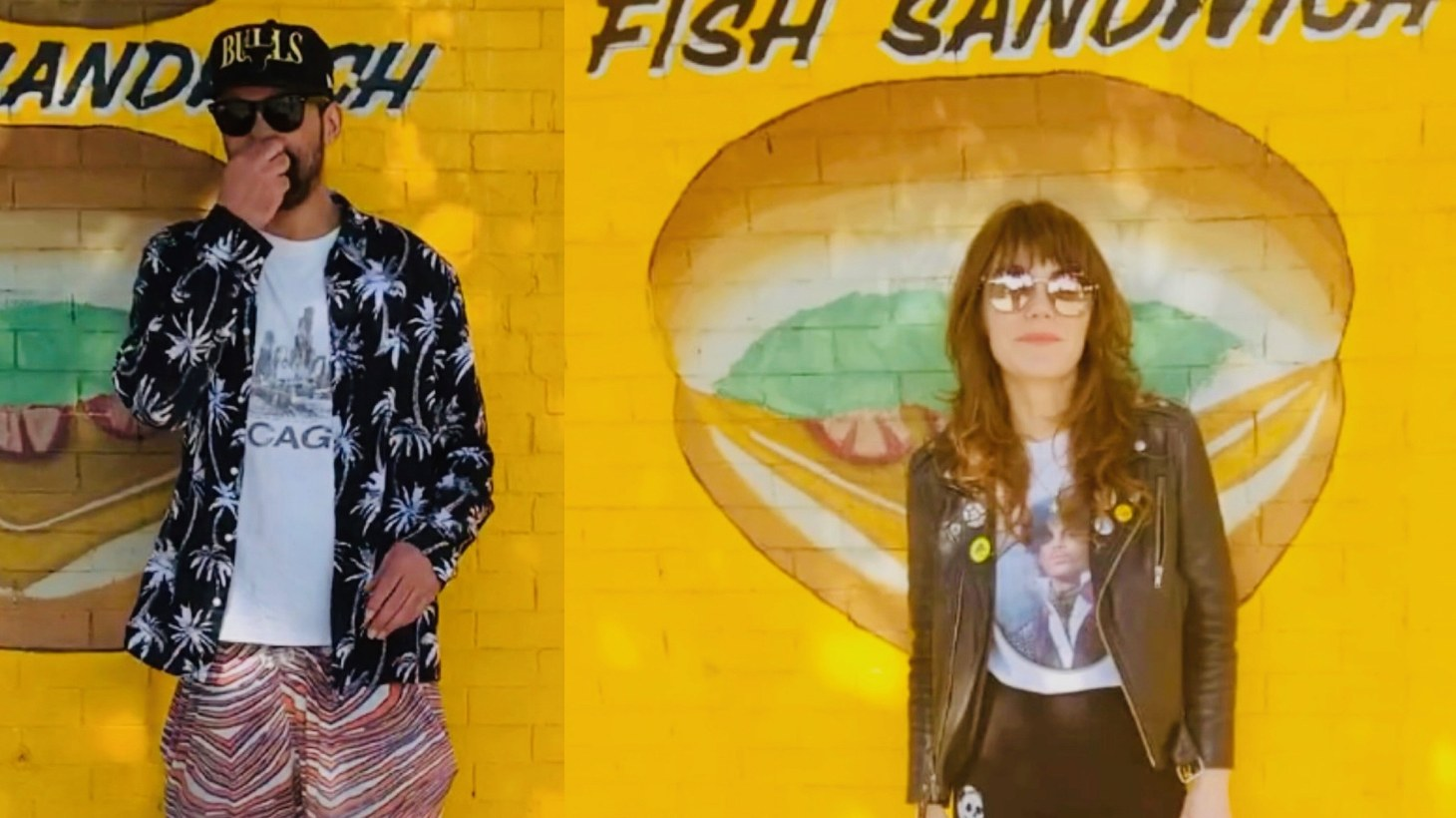 """LA musical darling Jenny Lewis hunkered down at home as Chicago-based rapper Serengeti tinkered away in his studio for their first-time collaboration """"Unblu."""""""