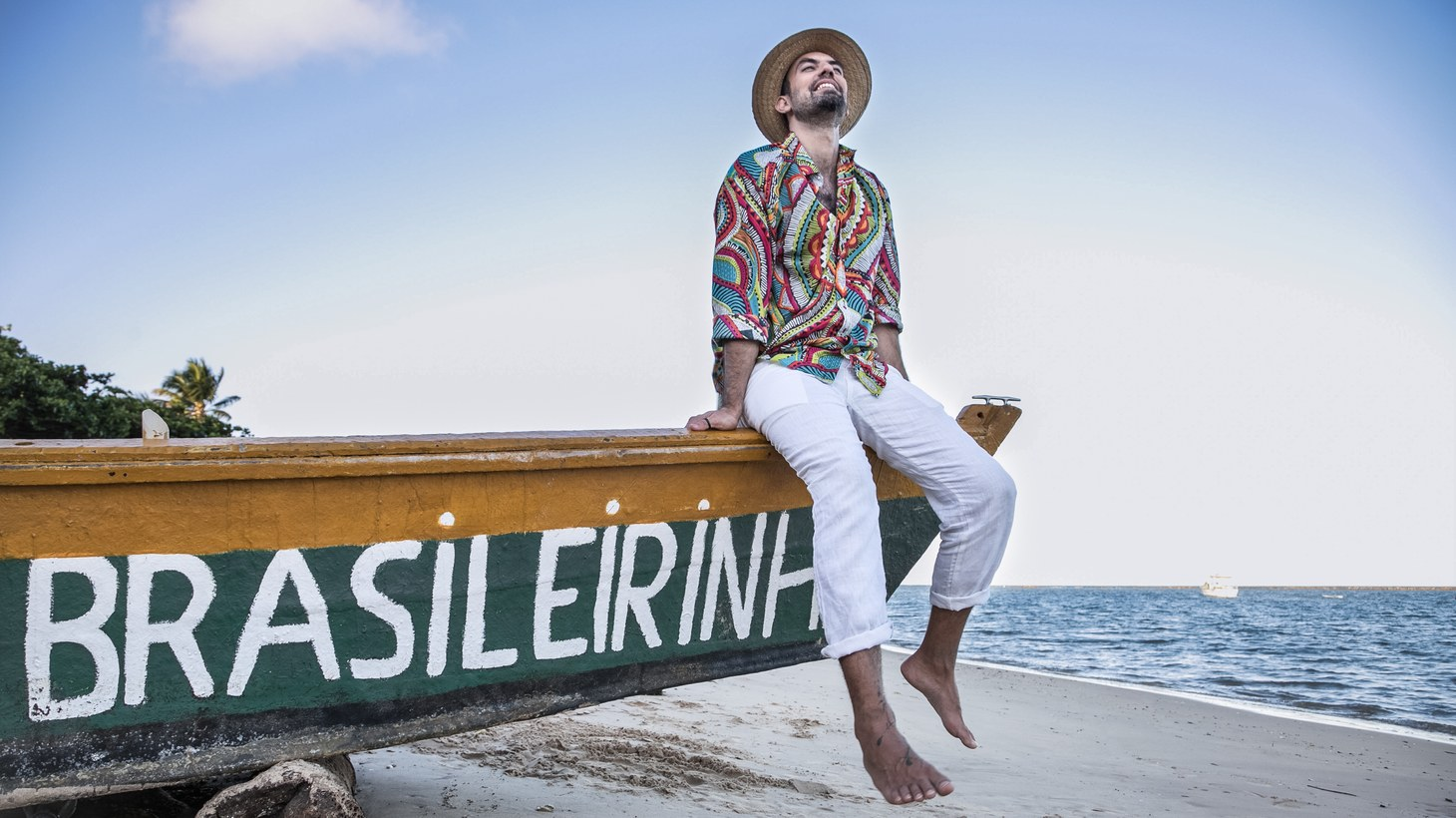 """Can't go to Brazil? We'll bring the sound of Brazil to you with João Selva, who takes a jazzy turn on the infectious """"Meu Mano"""" featuring singer Flavia Coelho."""
