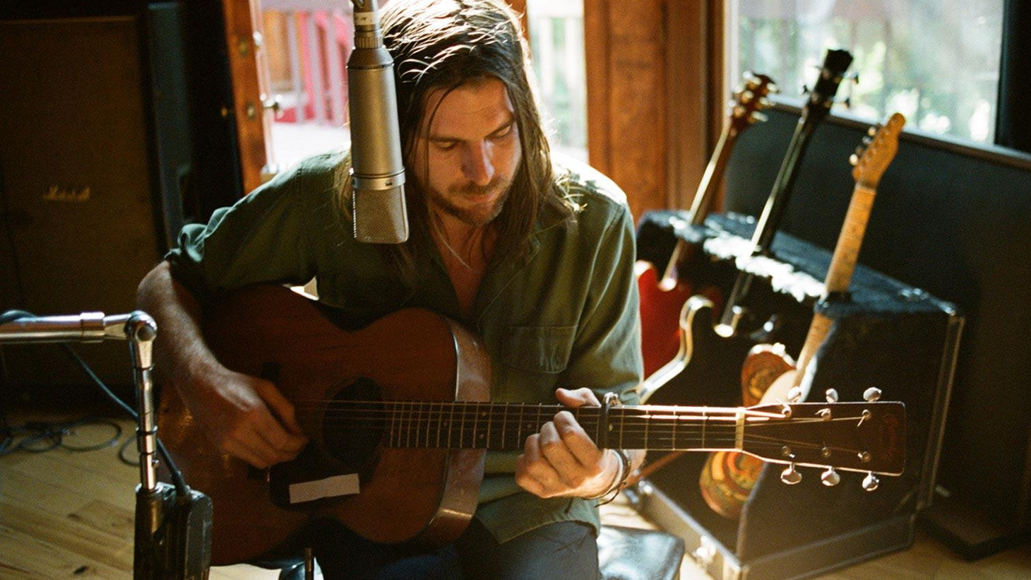 Producer-musician Jonathan Wilson's added his special touch to recordings by promising new artists and veterans alike. On his own record he rounds up friends like..