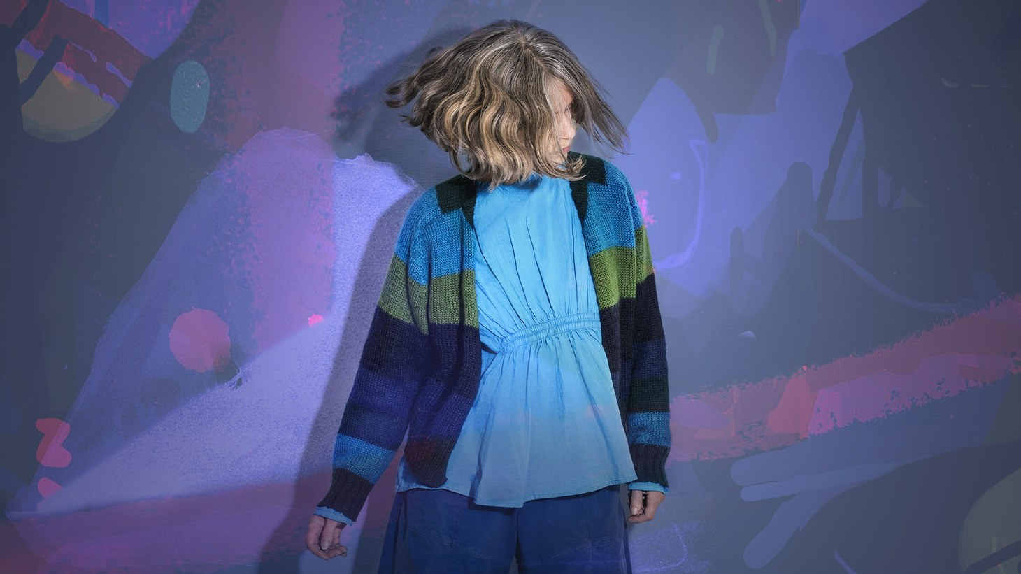 Forfun, the new EP by experimental Argentine artist Juana Molina cameabout after an airline lost her band's backline right before a big festival show.