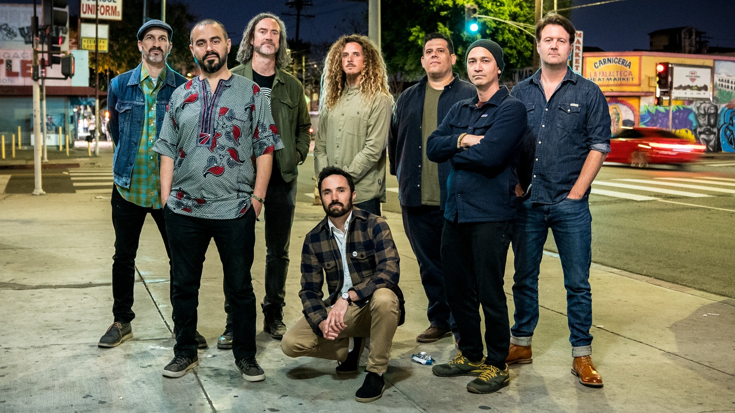 """Ten-piece 'tropi-funk' outfit Jungle Fire were recently named one of the city's best live bands by the LA Times, and we agree! """"Pico Union"""" is a musical shout out to one of our historic districts and a cool trackto add to your collection."""