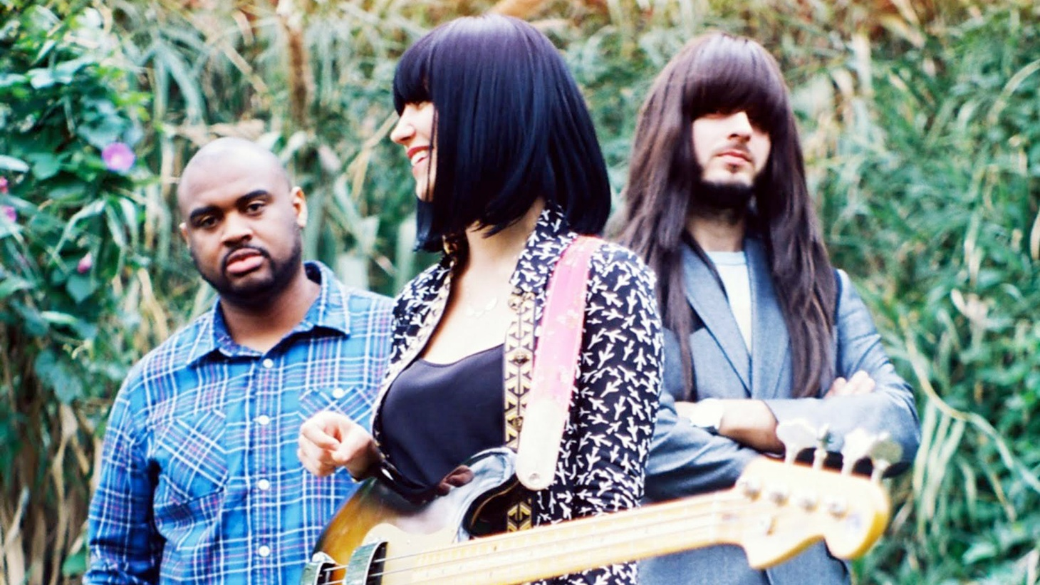 Hailing from Houston, the Texas trio Khruangbin provide surf and Thai-inflected grooves, but which might seem incongruous, since they are not from Thailand and there's no surf in their hometown!