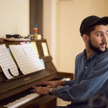 Ivory tickler Kiefer studied Jazz at UCLA under some of the greats.