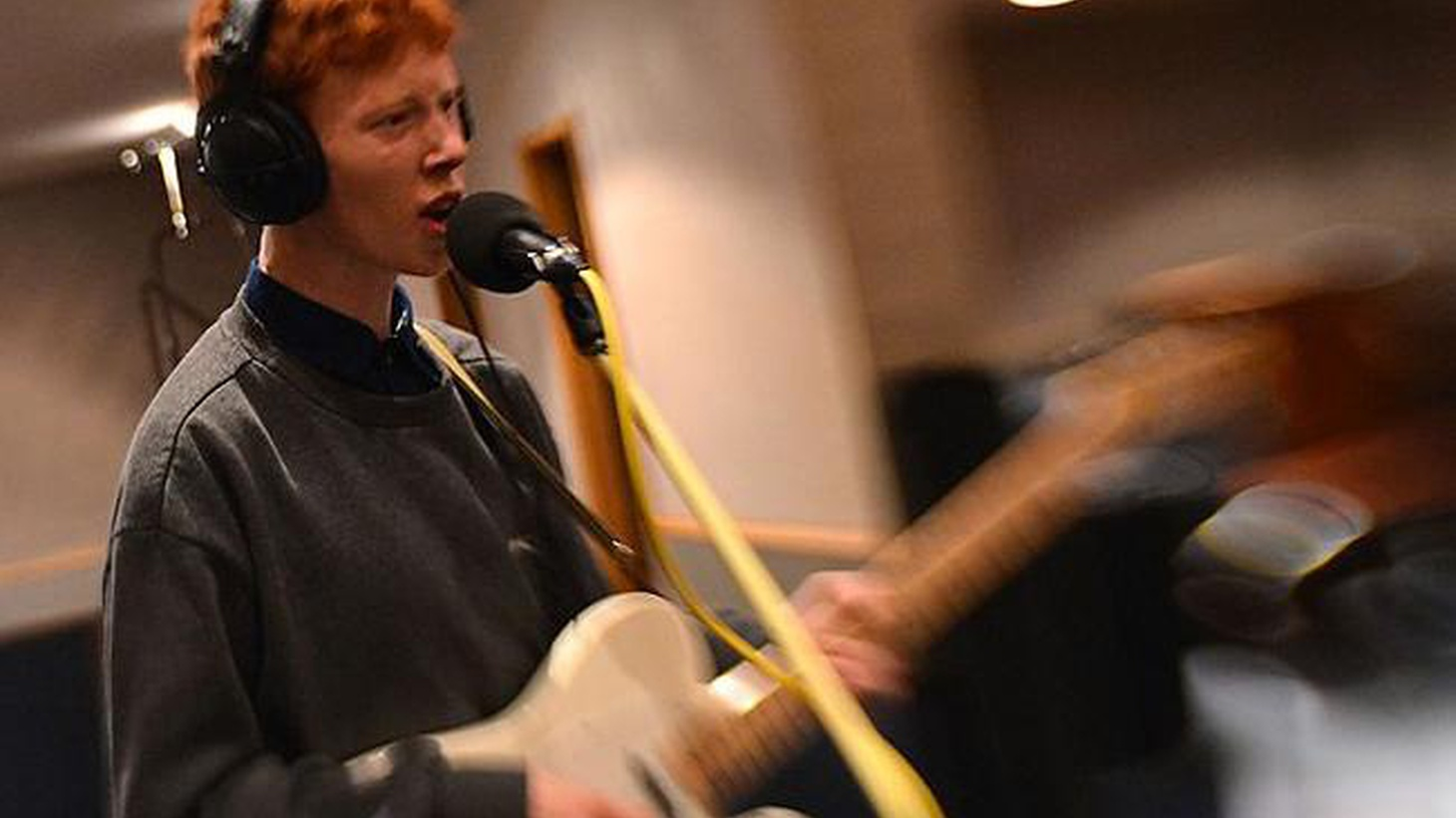 A favorite among KCRW DJ's, young Londoner Archy Marshall - best known as King Krule - is a captivating new artist who harnesses his deep baritone into alluring lyrics.
