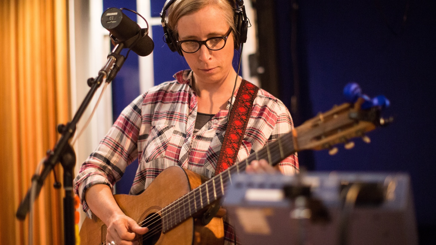 "Prolific songwriter Laura Veirs came to KCRW with a full band to celebrate the release of her 10th solo album. She left us with an exclusive version of  ""Seven Falls,"" and shared how she works her songs."