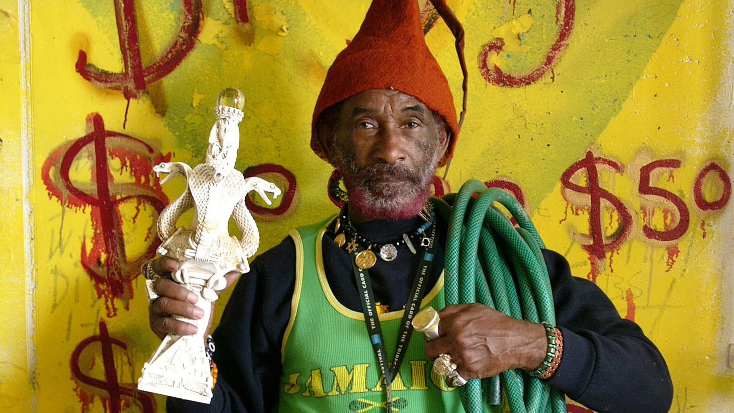 Grammy Award-winning Lee Scratch Perry has inspired generations of artists from Keith Richards to Animal Collective.