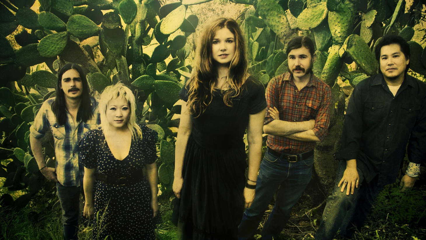 """Leslie Stevens leads a fine bunch of musicians as the band  Leslie and the Badgers .  Based in L.A. and inspired by classic country, this one time punk musician and music supervisor has traded it all to create her own sound with album Roomful of Smoke. Today's Top Tune is """" Old Timers """"."""