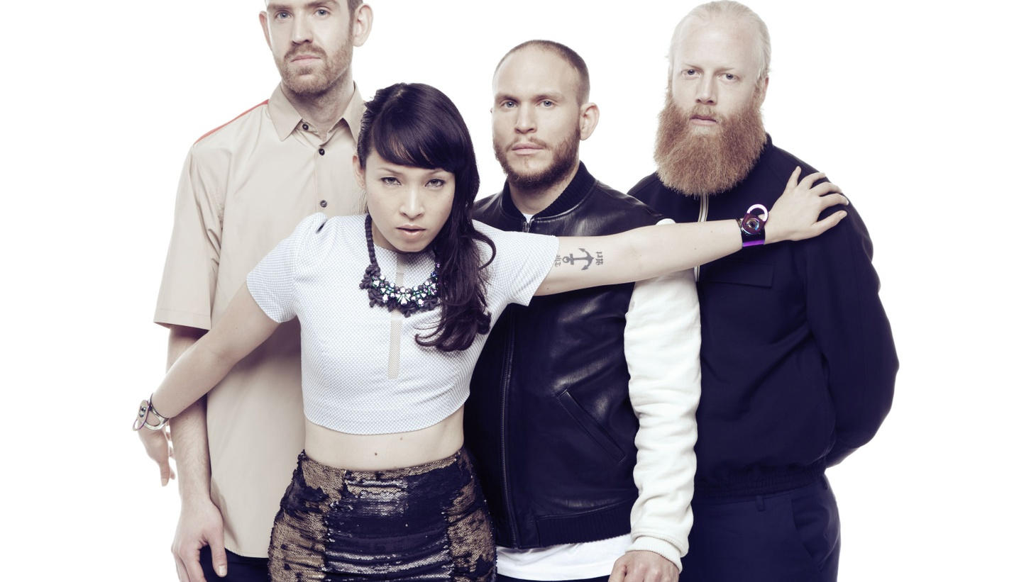 Swedish quartet Little Dragon are masters of down-tempo electro-groove.
