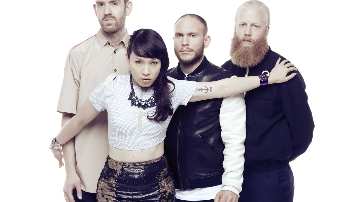 Swedish experimental outfit Little Dragon let the electro-groove flow on their fourth album. Elegant singer and longtime KCRW favorite Yukimi Nagano fronts a tight band.
