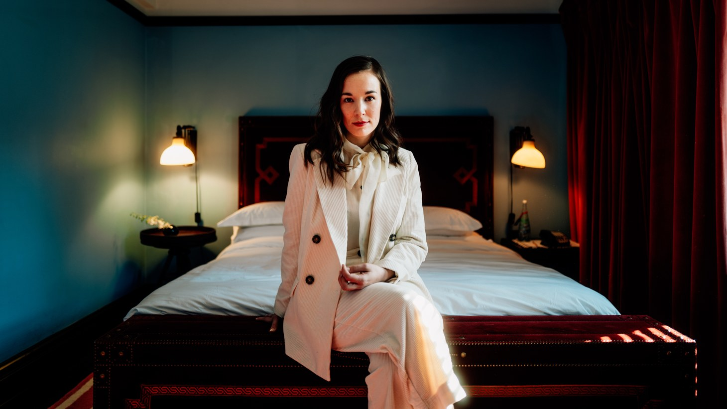 """Margaret Glaspy has a lot going for her. She knows how to turn a phrase, she's nimble on guitar, and to top it off, she's willing to expose her vulnerabilities. We experience all of that on """"Stay With Me."""""""