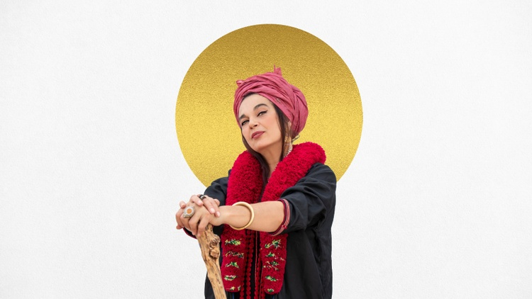 "Frontwoman for the Spanish flamenco/hip-hop outfit Ojos de Brujo, Marinah brings her powerful force to ""Vuelo"" or flight, an ode to freedom and the perseverance of women."