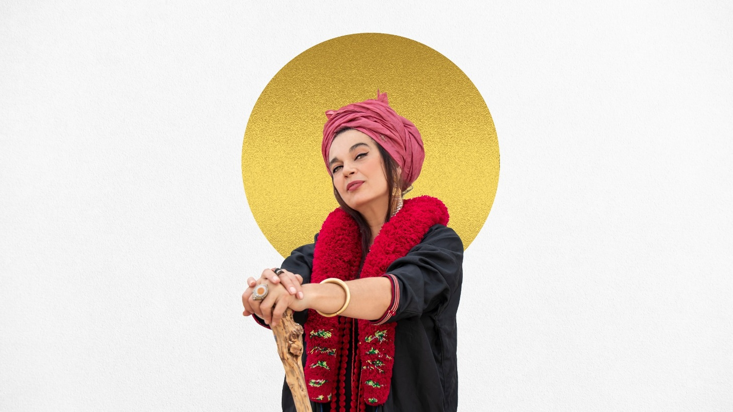 """Frontwoman for the Spanish flamenco/hip-hop outfit Ojos de Brujo, Marinah brings her powerful force to """"Vuelo"""" or flight, an ode to freedom and the perseverance of women."""