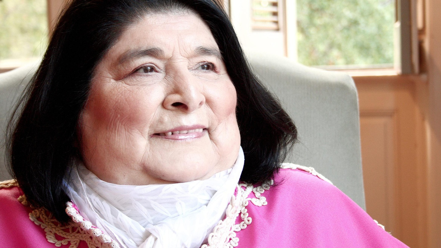 The late Argentine singer Mercedes Sosa was best known