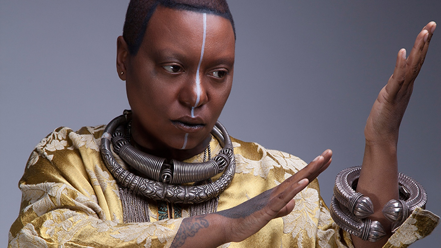 Bassist and songwriter Meshell Ndegeocello returns with her 11 th album. It's meditative, melodic and moody.
