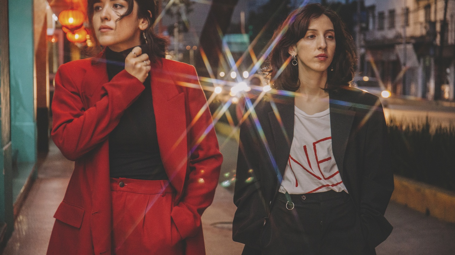 Based in Tijuana, Mint Field features lead singer/guitarist Estrella Sanchez -- an ex-professional bowler -- and childhood friend Amor Amezcua, a self-declared synth-nerd and drummer.