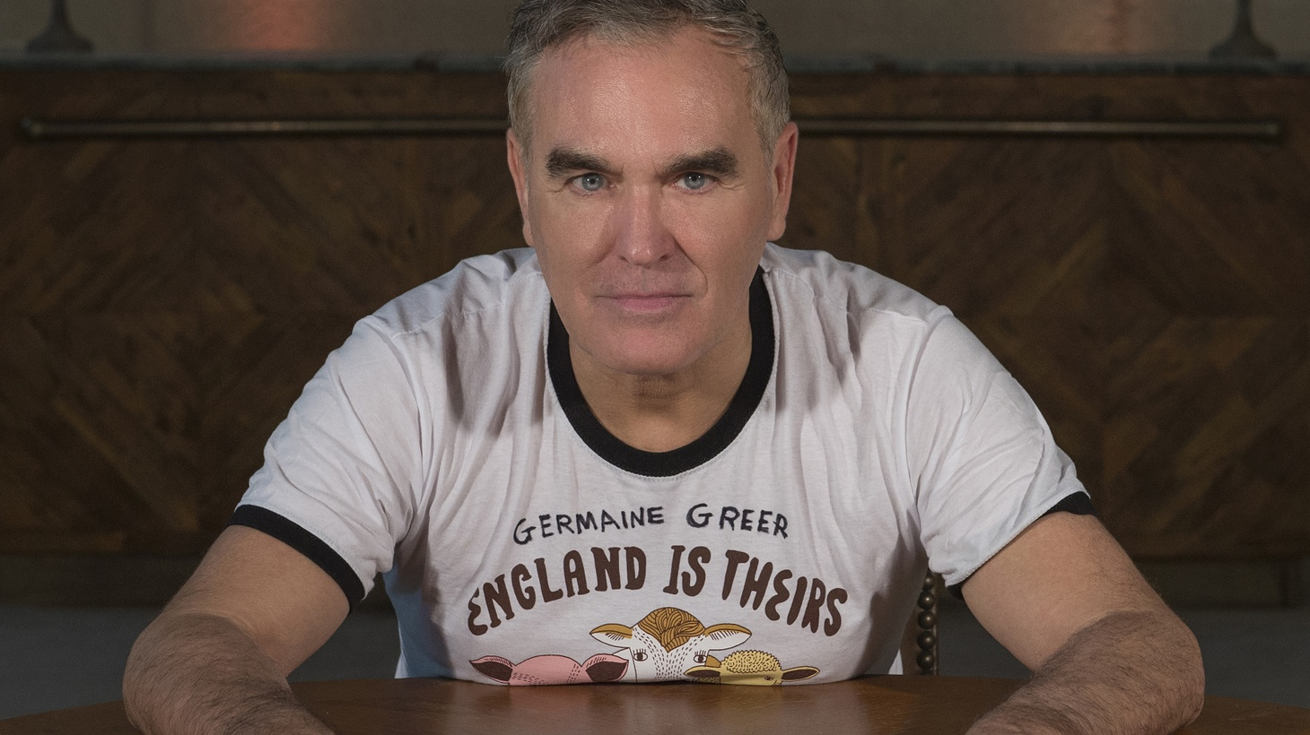 Morrissey provides sage advice during these troubled times when he sings Spent the Day in Bed. Who can argue that?