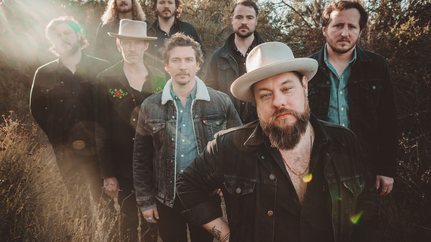 2017 was a break out year for the Denver-based propulsive rock band  Nathaniel Rateliff & The Night Sweats ; primarily due to their lauded debut and a rash of performances across the globe.