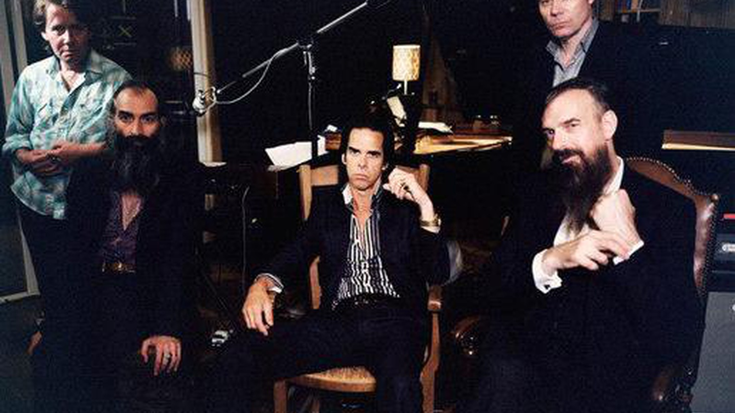 The songs on Nick Cave's new album took form in a modest notebook over the course of a year. His musings reflect his questions about a world where the Internet dictates.