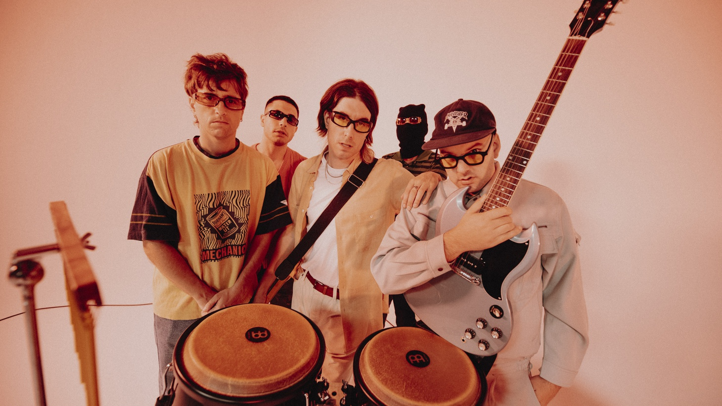 """Ever meet someone and they seem kinda familiar? Yup. That's what inspired Spanish band Novedades Carminha to write """"Típica Cara,"""" Spanish for """"familiar face."""""""