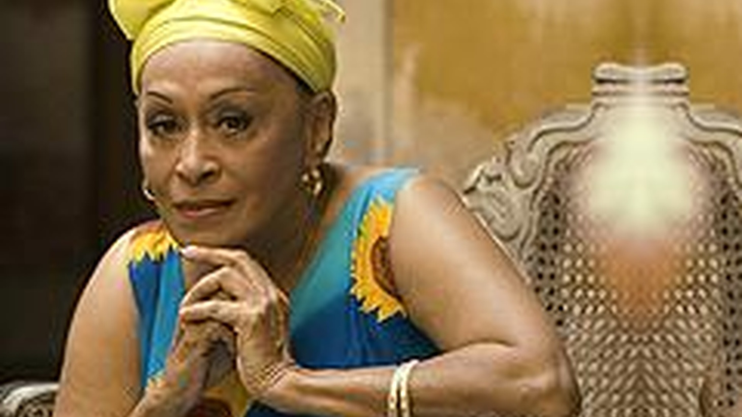 ...from Gracias.   Buena Vista Social Club's leading lady, Omara Portuondo celebrates her sixth decade as a recording artist with her release, Gracias. On the disc, she's invited some of her favorite artists..