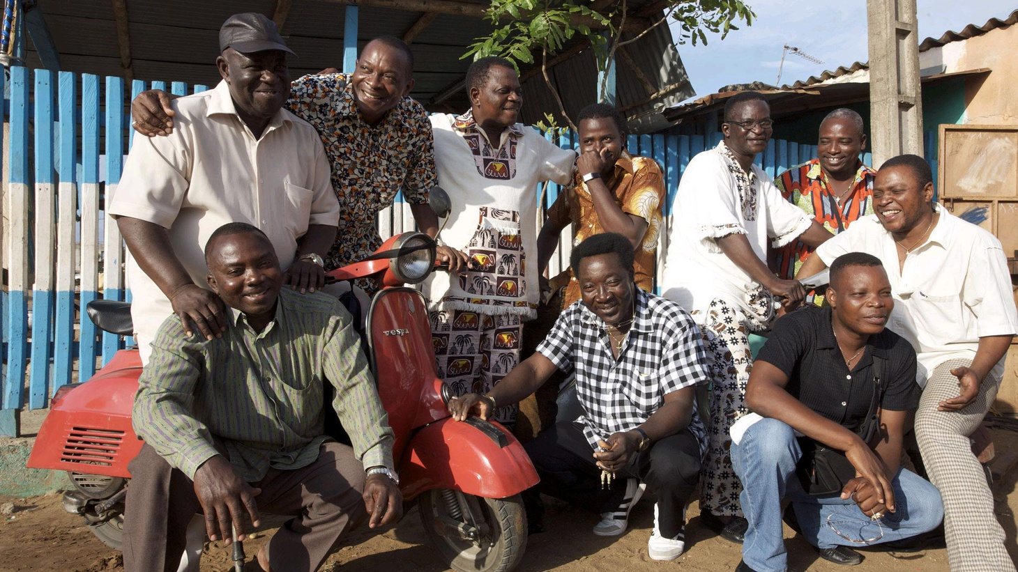 Orchestre Poly-Rythmo's groundbreaking fusion of traditional high-life, Afrobeat, soul and funk make them a national institution in their native Benin...