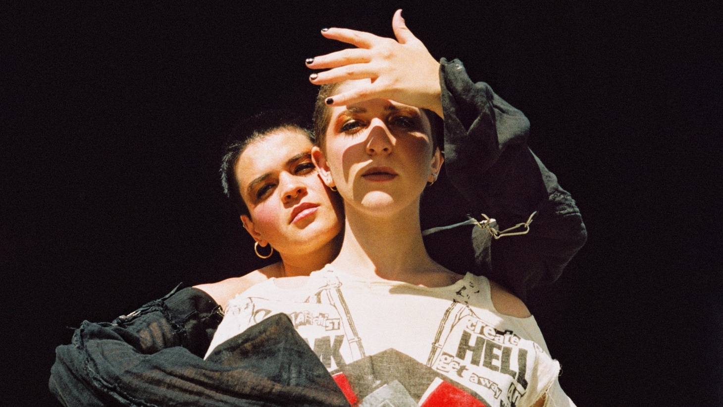 """Taking a leap of faith into the unknown is what prompted the Brooklyn duo Overcoats to base their song on the tarot card """"The Fool."""" This metaphor ignites the next phase of their career as they commit to fearless honesty in all things."""