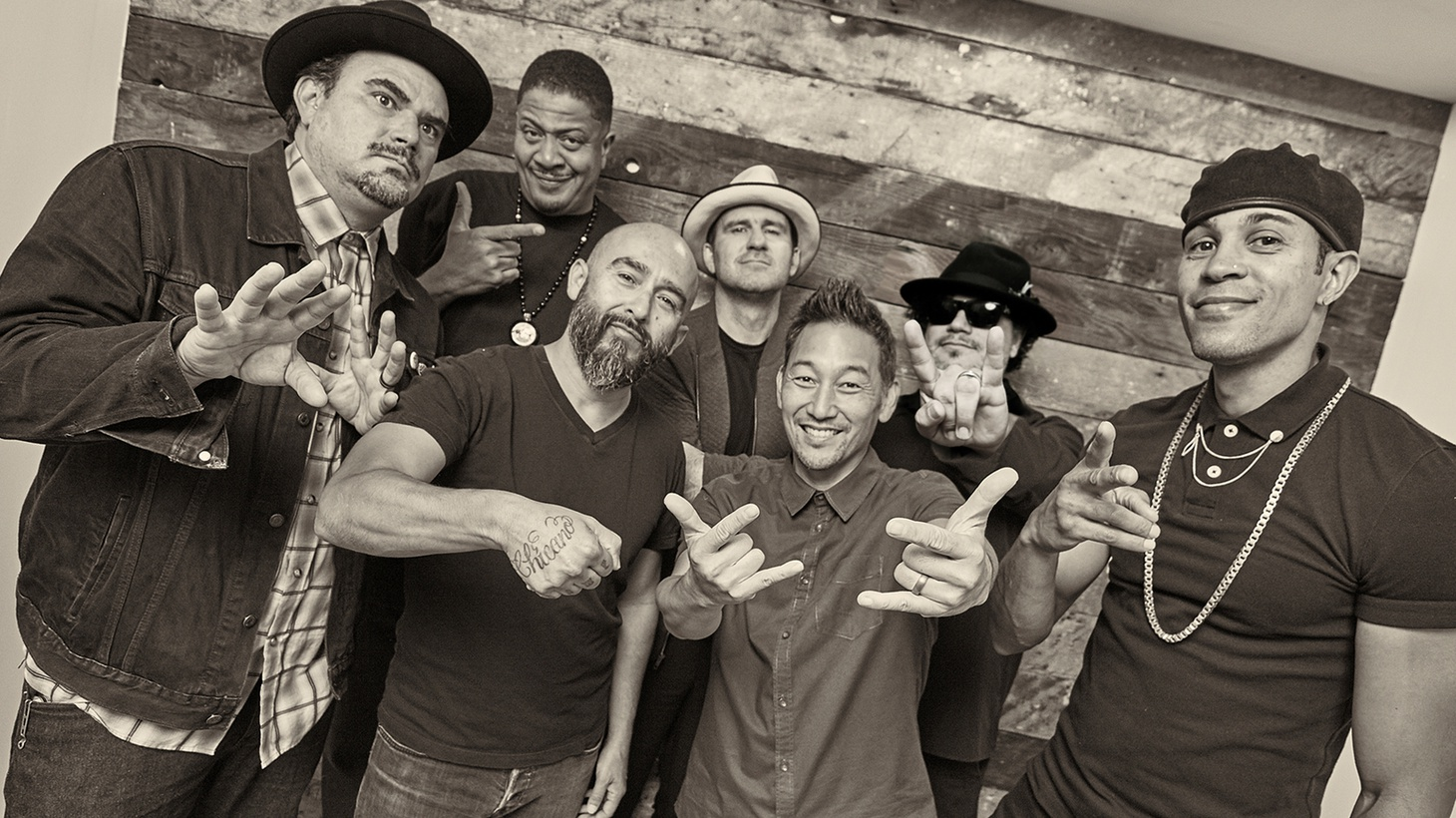 "Los Angeles is the home for Grammy winning multi-cultural outfit, Ozomatli. ""Libertad"" explodes with a tasty mix of pan-American styles but it's extra special because it features founding members Chali 2na and Cut Chemist."