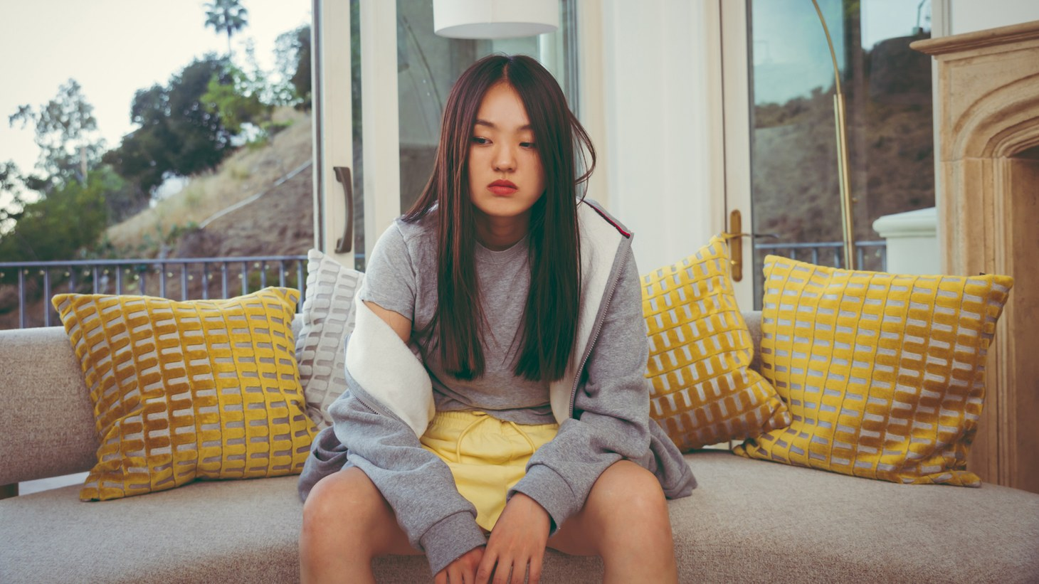 "South Korean DJ and producer Park Hye Jin has been elevating the sound of K-house around the world but on ""Clouds,"" the rapper collaborates with fellow LA-based producer Nosaj Thing for a hypnotizing downtempo beat."