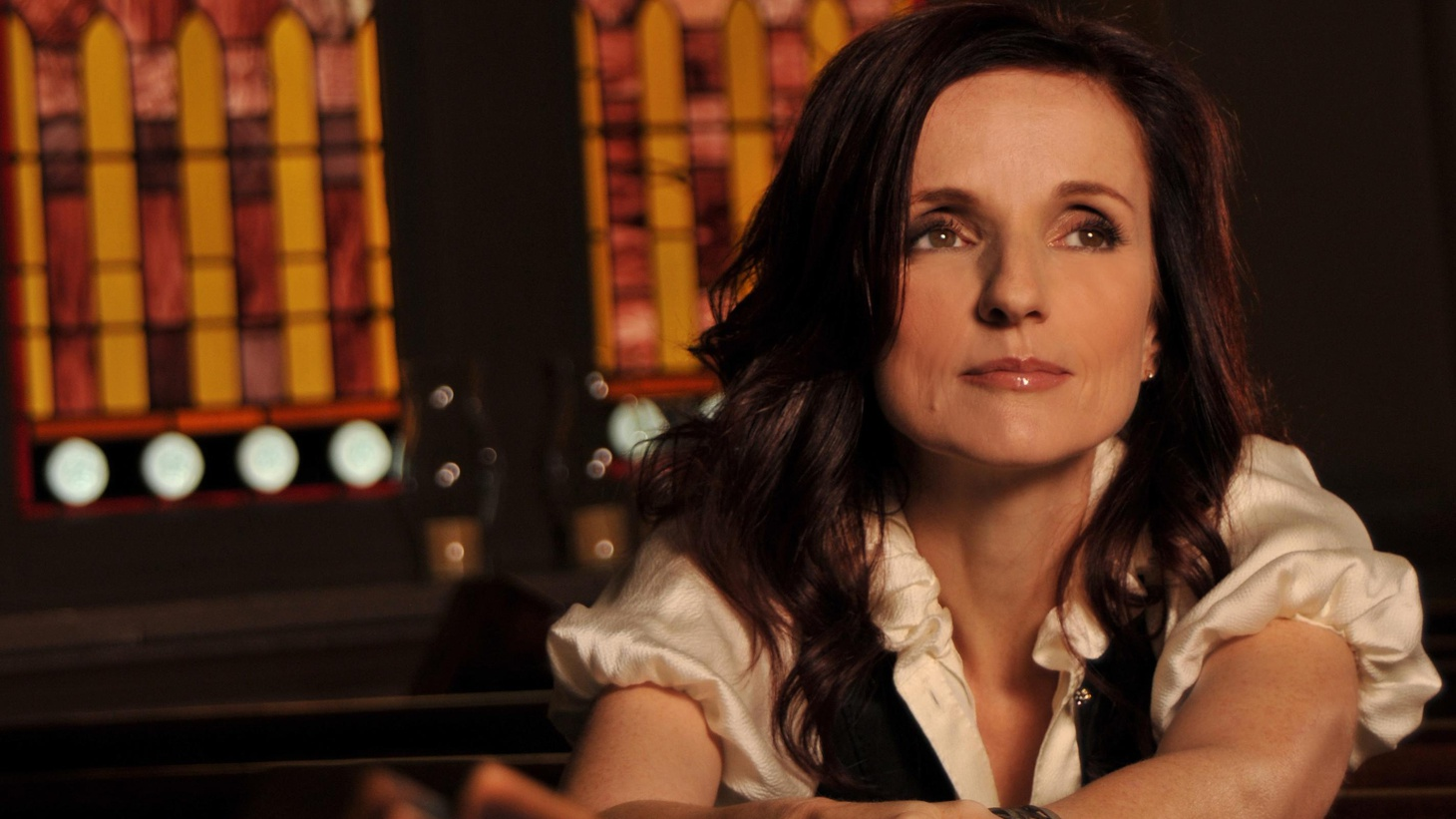 """On her 7th full length release, Patty Griffin celebrates the soul of American music with a tribute to Gospel. The CD, Downtown Church features 14 inspiring songs recorded in a Presbyterian Church in downtown Nashville, with appearances from Emmylou Harris, Buddy and Julie Miller, and Raul Malo. Today's Top Tune features Mike Farris and """"gospel royalty"""" Regina McCrary on """"Wade In The Water."""""""