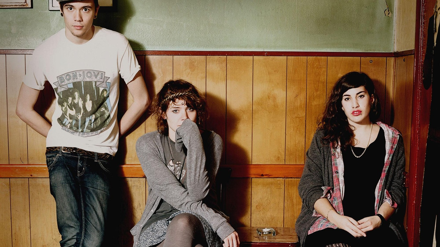 ...from their Body Parts and First Aid EP.  The handmade instruments and unique vocalinterplay of the British bohemians who make up Peggy Sue lend an offbeat sound to their gypsy rhythms....