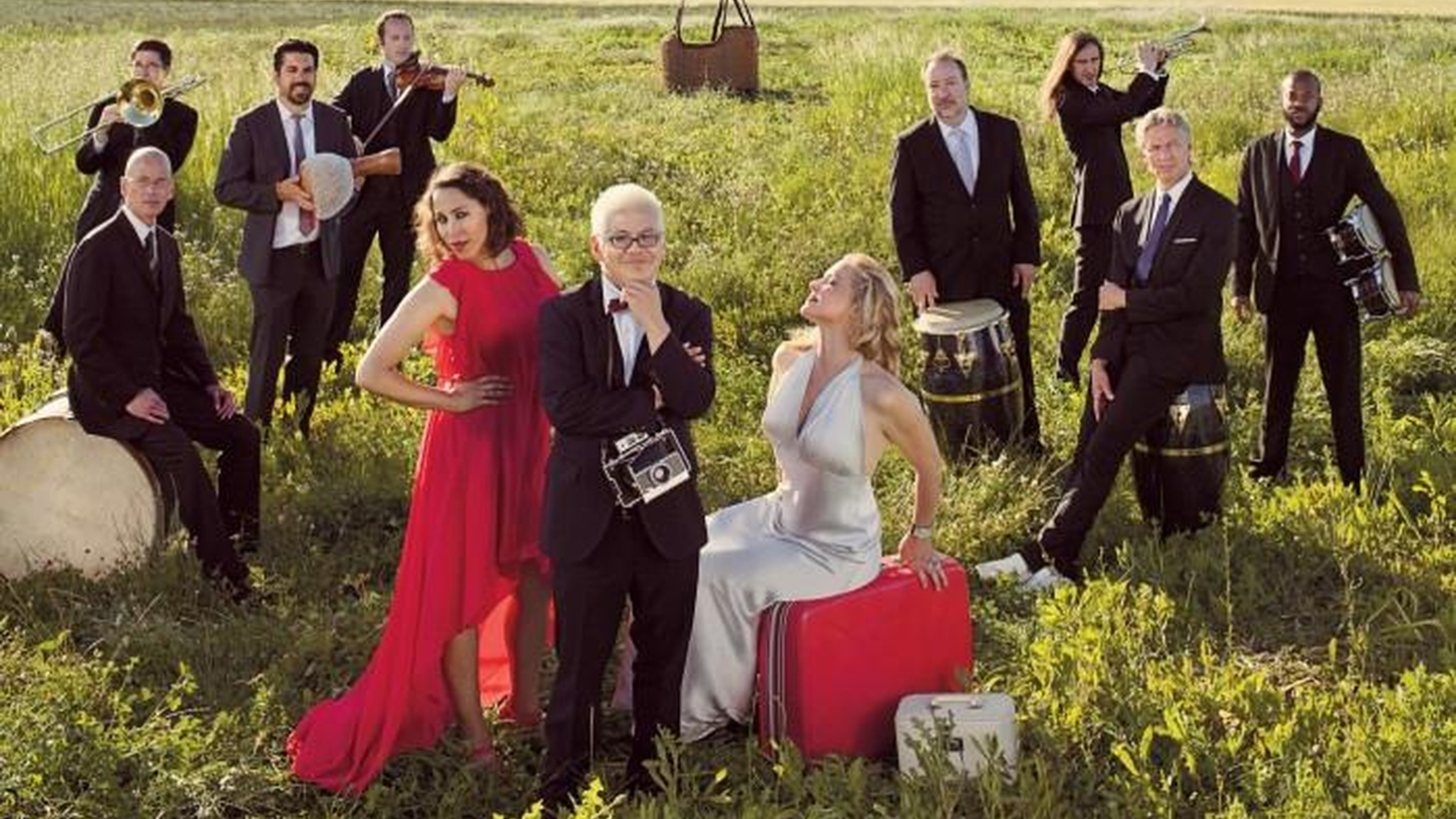 Pink Martini is a little orchestra with international acclaim. They traverse the world in song delighting audiences with originals and classics likeToday's Top Tune.