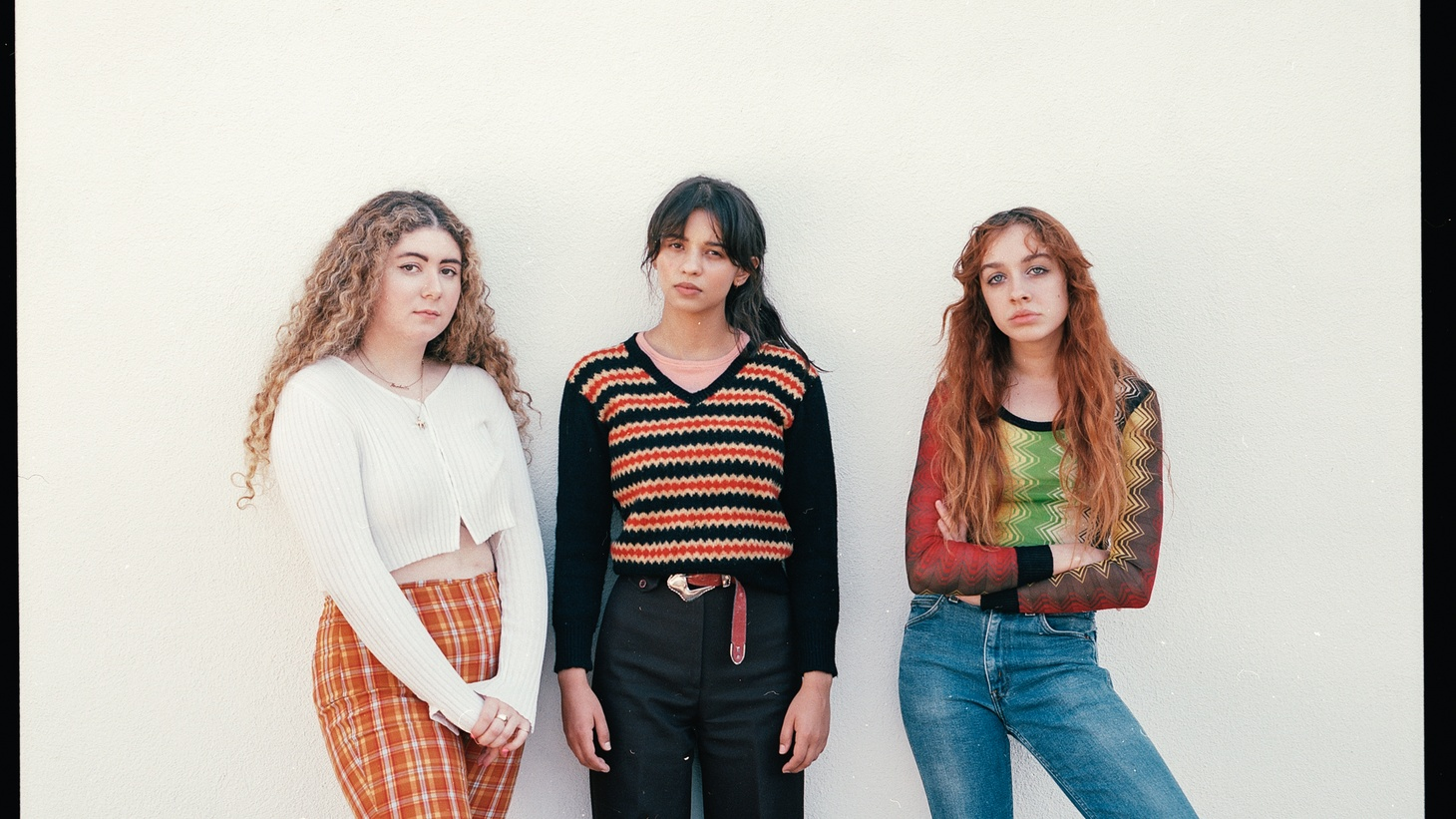 """""""Loose Change"""" is a frenzied story of redemption, punctuated by acoustic piano and horns. We hear the LA-based trio maturing into their own on the new album produced by wildman Hanni El Khatib withJonny Bell as co producer."""