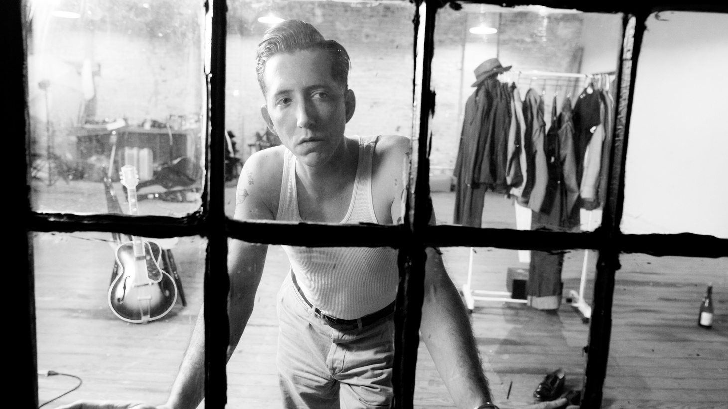 """Pokey LaFarge describes the title of his album as """"the state where artists create."""" Of the process he said, """"I got to the point in writing these songs where I felt like a house on fire that just kept burning."""""""