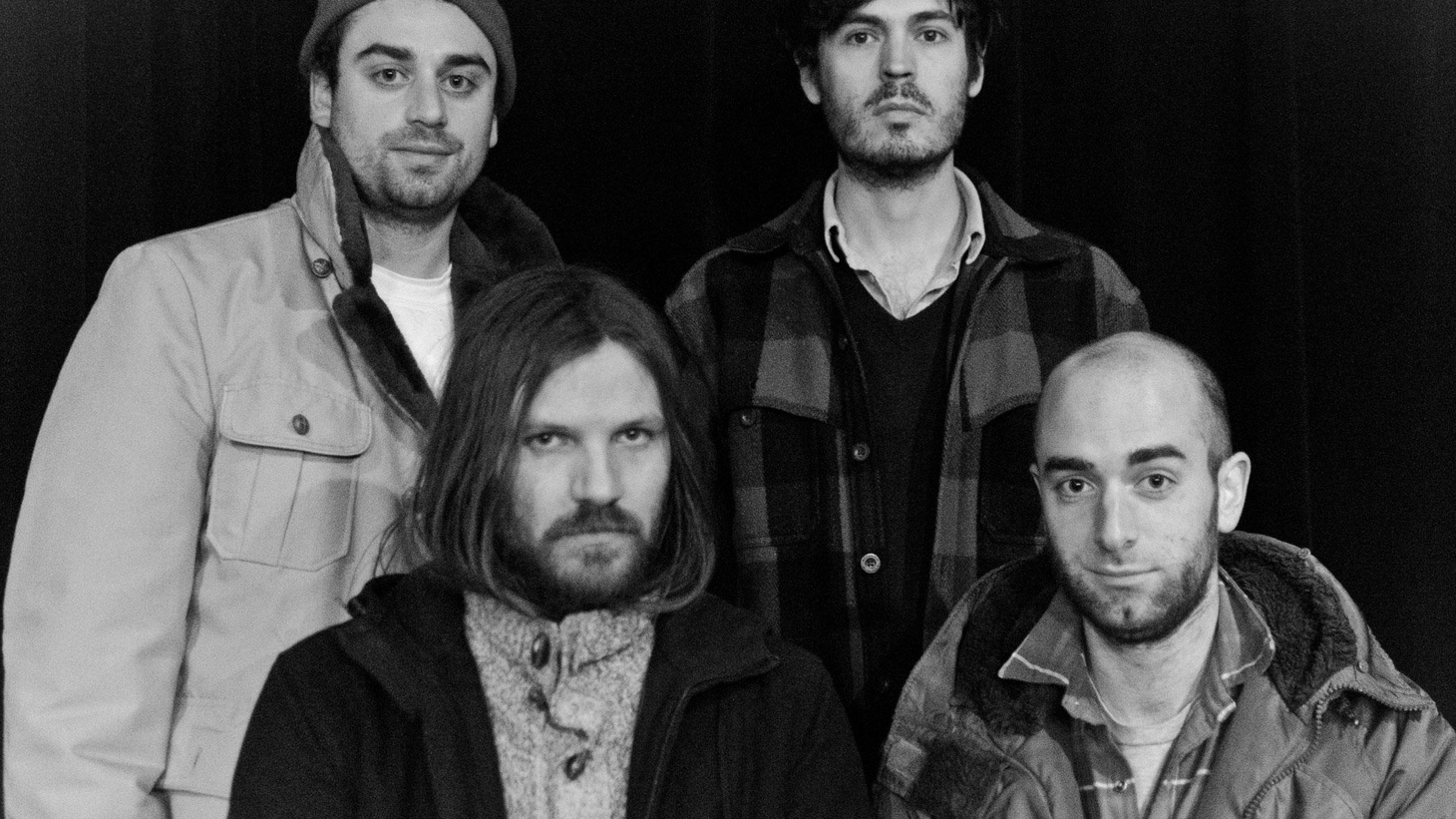Christian Wargo and Casey Wescott of Fleet Foxes team up with brothers Ian and Peter Murray to pursue their poppier side as the band Poor Moon.