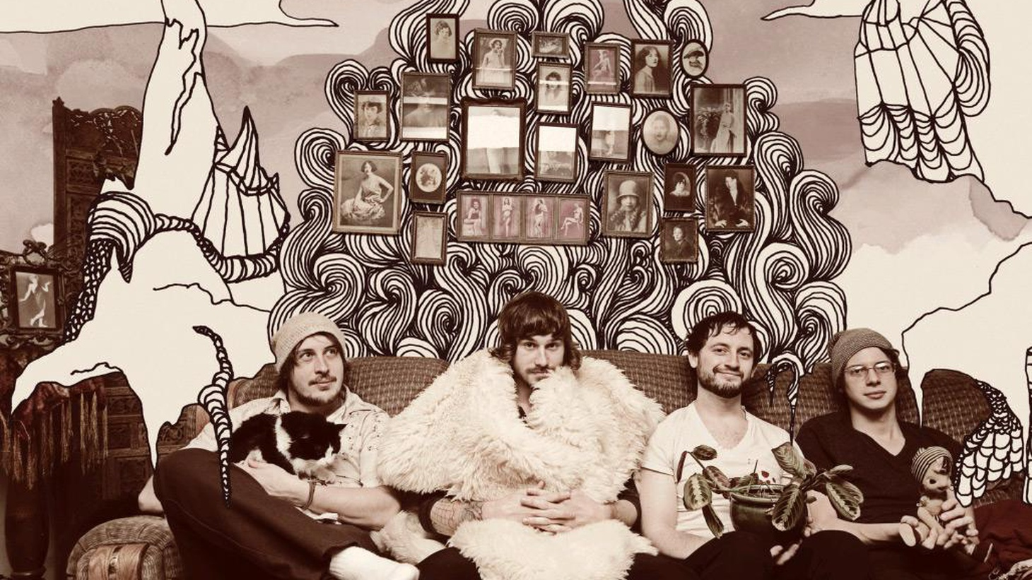 ...from The Satanic Satanists.   The prolific Portland-based band, Portugal. The Man, are a little experimental, a little indie and have stunning artwork...