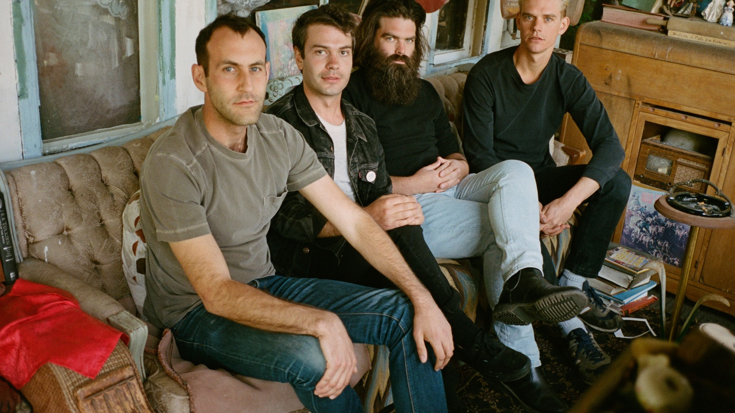 When Preoccupations decided to write and record its new album, each of the four members was going through his own growing pains, plus each had all moved to different cities.